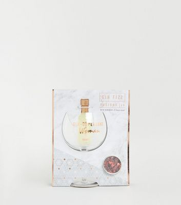 Rose Gold Gin Fizz Cocktail Set