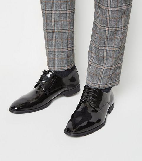 fde31003728d ... Black Patent Lace-Up Shoes ...