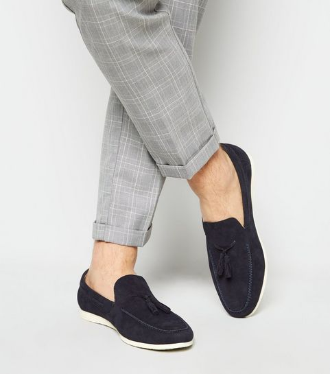 d83dbdf5fb080 Men's Loafers   Men's Suedette & Leather-Look Loafers   New Look