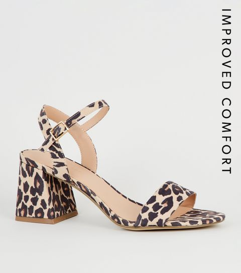 1fcd0b1a7cce Black Suedette Leopard Print Heels · Black Suedette Leopard Print Heels ...