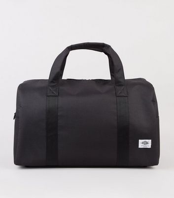 Black Ripstop Holdall Bag