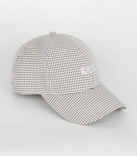a7f948ff6df ... Brown Check LNDN 6 Panel Cap ...