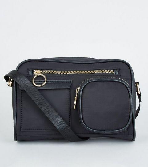 8b7f85307b Black Utility Shoulder Bag · Black Utility Shoulder Bag ...