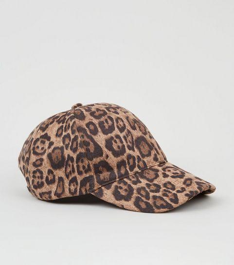 Brown Leopard Print Cap · Brown Leopard Print Cap ... 40c8a66ca45