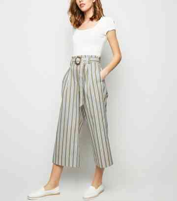Womens Green Trousers Khaki Trousers New Look