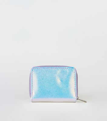 Lilac Holographic Card Holder