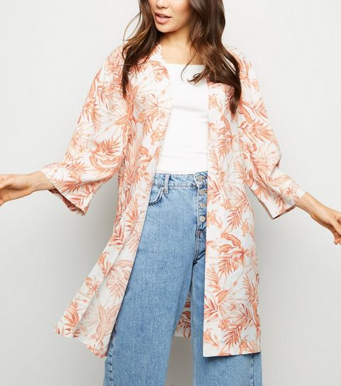 c1aa529fa12f Orange Tropical Kimono · Orange Tropical Kimono ...