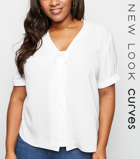 Tops Grande Taille   T-shirts   chemises femme   New Look 37d097553bf7