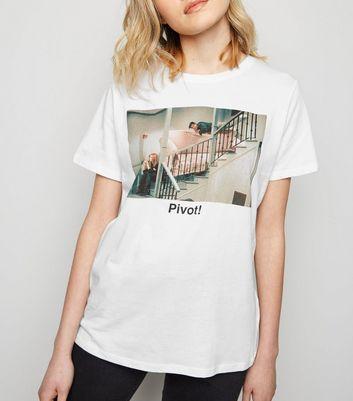 Wishlist La T Pivot Shirt Supprimer Slogan Ajouter De Blanc Friends À 1Jc3lFTK