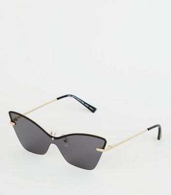 Black Cat Eye Lens Frame Sunglasses
