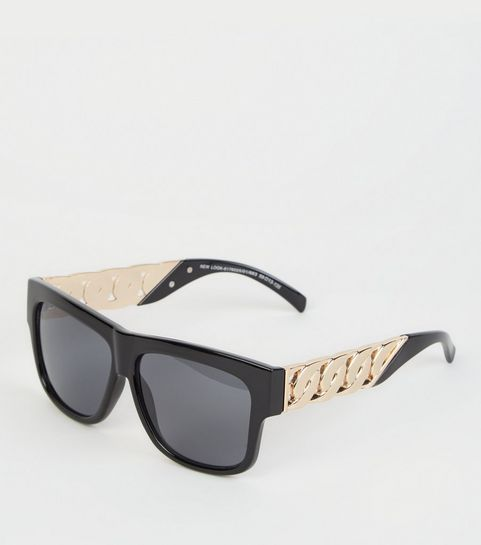 af2a6e2a870b Black Chunky Chain Sunglasses · Black Chunky Chain Sunglasses ...