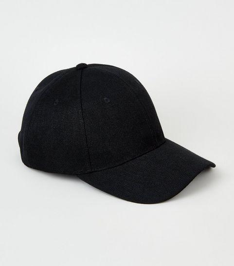2c8085504a2 Black Jersey Cap · Black Jersey Cap ...