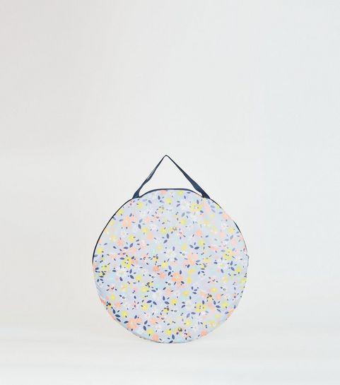 Multicoloured Fl Print Beach Mat