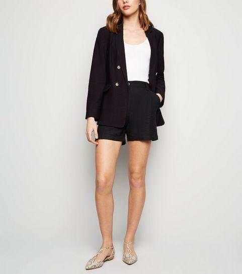1e415e48ccdbc Black Twill Shorts · Black Twill Shorts ...