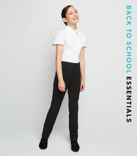 ac5d1ae199ed Girls Black Slim Trousers · Girls Black Slim Trousers ...