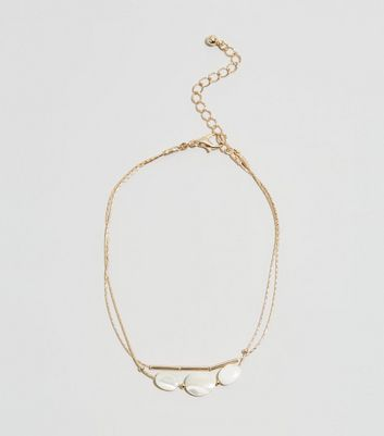 Gold Shell Fine Chain Anklet