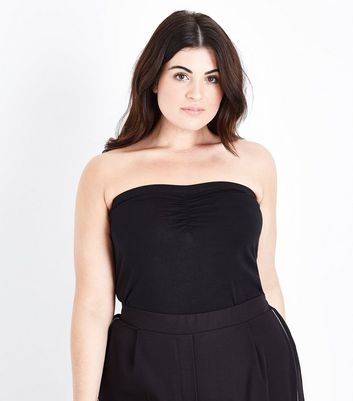 Curves - Top bandeau noir long