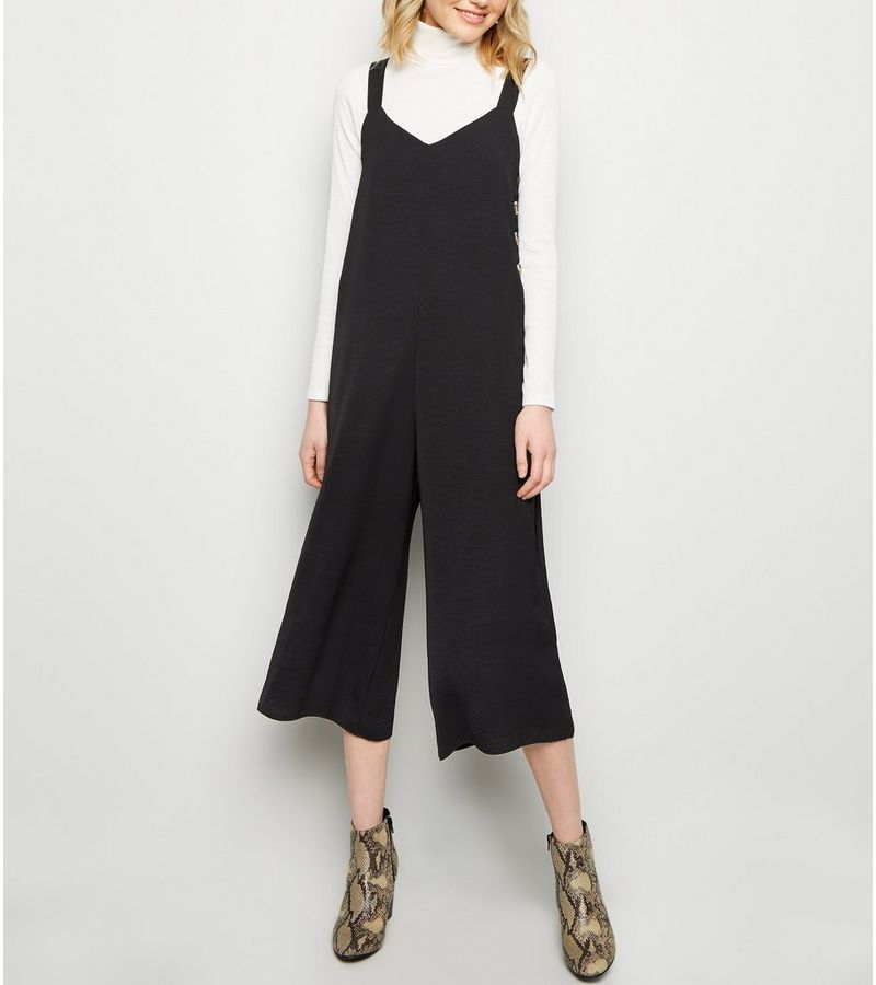 New Look - button side cropped jumpsuit - 1