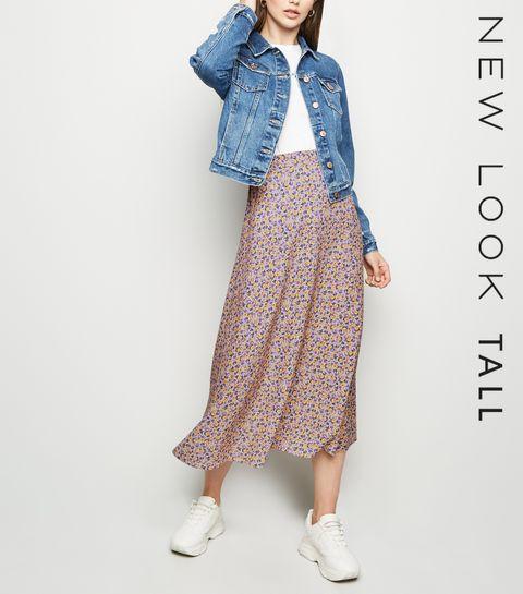 7851571685c ... Shirt Dress. Cropped Denim Jacket. Hit List Leather Dress - Black ...  Tall Pink Ditsy Floral Print Midi Skirt .