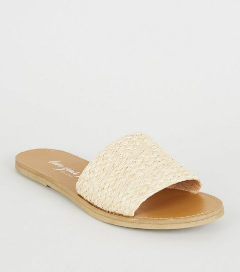 051d67da8 Cream Woven Strap Sliders · Cream Woven Strap Sliders ...