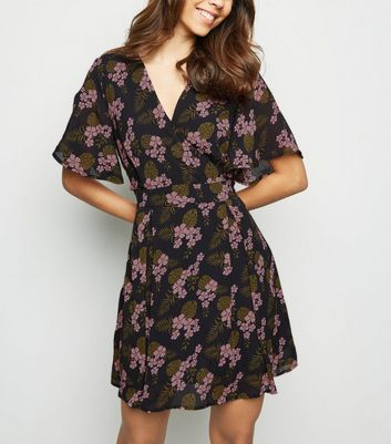 Floral Cheetah Dress