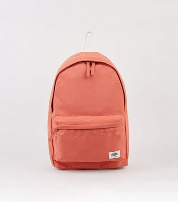 Deep Pink Canvas Backpack