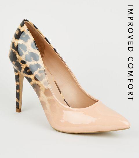 17848742d01565 Escarpins Femme | Chaussures à talons hauts en daim & cuir | New Look