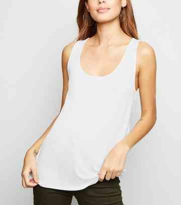 effeb085c4fa11 Vest Tops | Ladies' Lace & Long Vest Tops | New Look