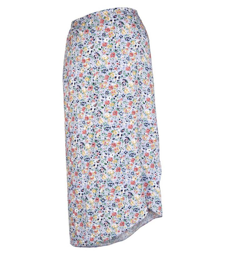 571fbeba58 ... Maternity Lilac Ditsy Floral Wrap Midi Skirt. ×. ×. ×. Shop the look