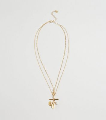 WANTED Gold Layered Chain Necklace