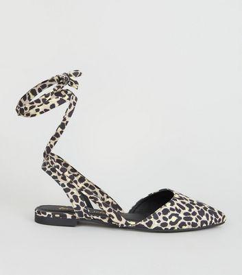 new look animal print sandals