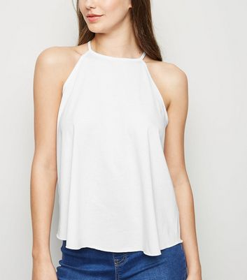 White Swing Cami