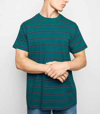 Teal Stripe T-Shirt