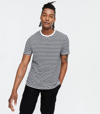 Black Stripe Short Sleeve T-Shirt