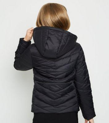 Essentials Girls Hooded Puffer Jacket