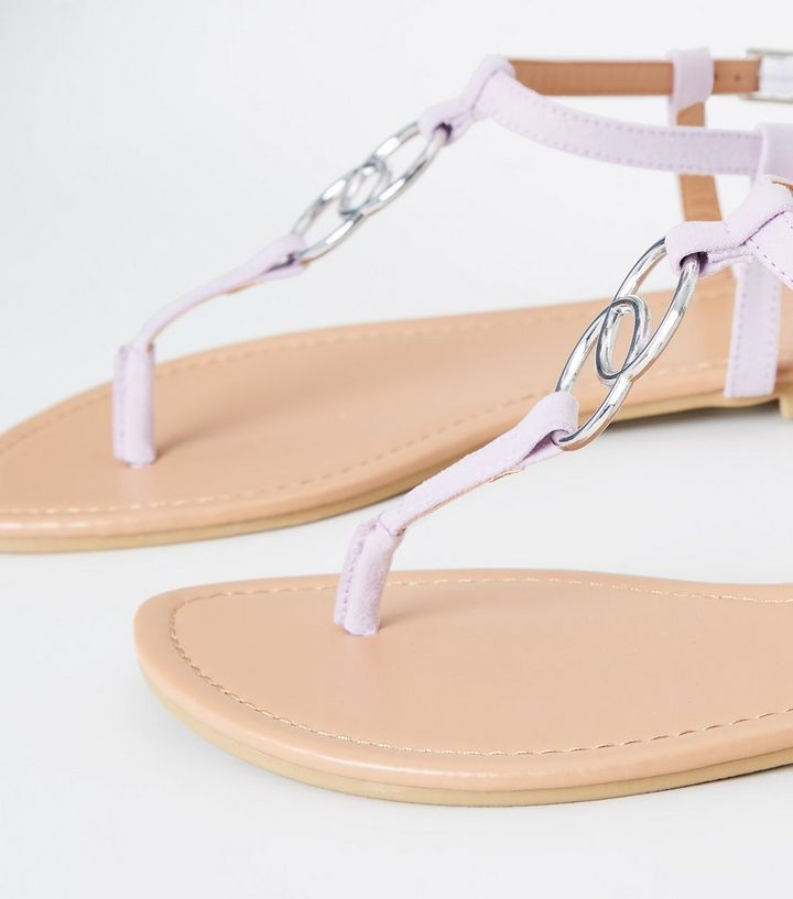 367f6fd30b07 ... Lilac Ring Strap Flat Sandals. ×. ×. ×. Shop the look