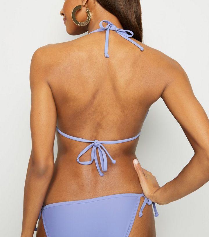 732874e24d ... Lilac Hardware Moulded Triangle Bikini Top. ×. ×. ×. Shop the look