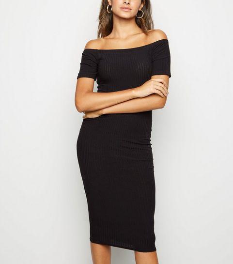 Bardot Dresses Off The Shoulder Dresses New Look