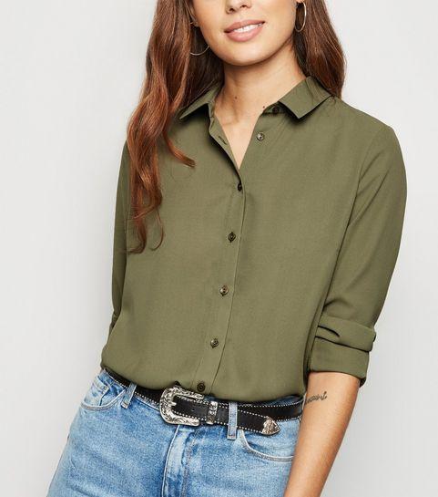 42b7e61f883aff Khaki Long Sleeve Shirt · Khaki Long Sleeve Shirt ...