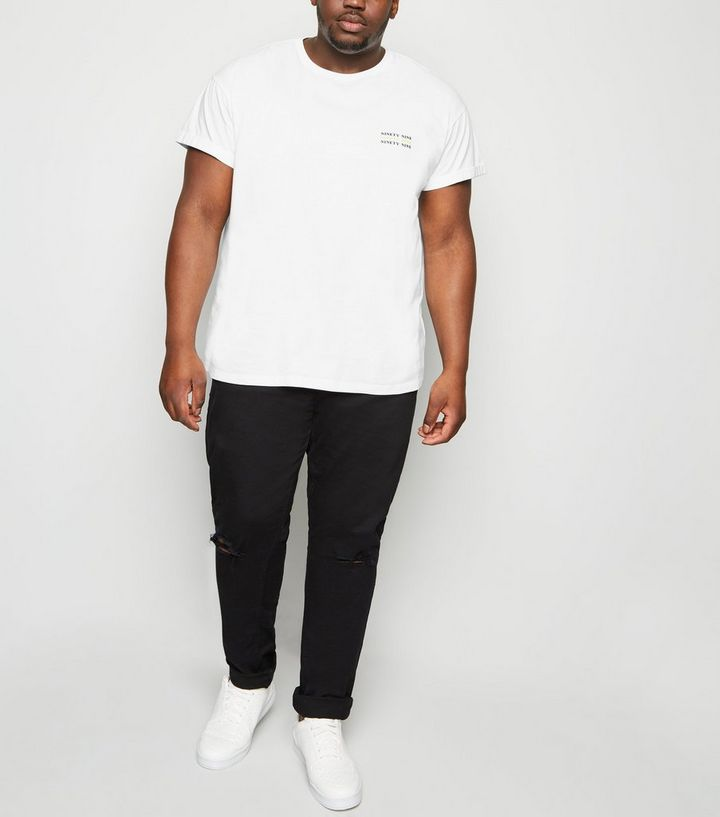 f790c8fdc59d ... Plus Size White Ninety Nine Slogan T-Shirt. ×. ×. ×. Shop the look