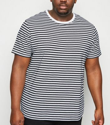 Plus Size Black Stripe T-Shirt