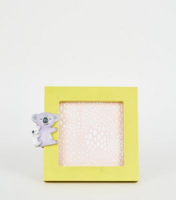 Yellow 3D Koala Photo Frame