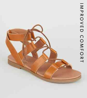 1b1c1a40fbd Flat Sandals | Toe Post & Footbed Sandals | New Look