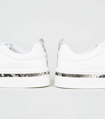 Weiße Entfernen Sneaker Zum Schnüren Von Für Schlangenmuster Gespeicherten Mit Artikeln Später Speichern OPXukZiT