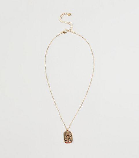 ... Gold Star Tarot Pendant Necklace ... 167cf8ca0a41