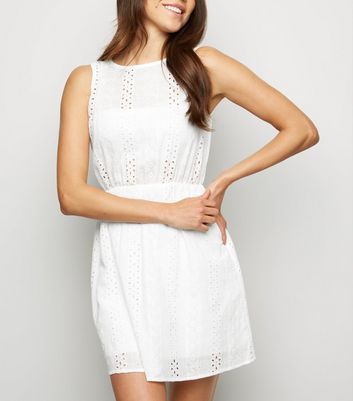 Cameo Rose White Crochet Dress