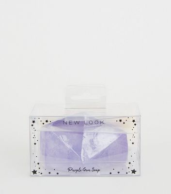 Lilac Orange Blossom Scented Gem Soap
