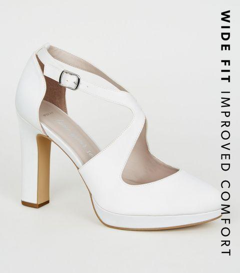 4b019b5ef0837 Wide Fit Heels | Wide Fit Block Heels & Wide Fit High Heels | New Look