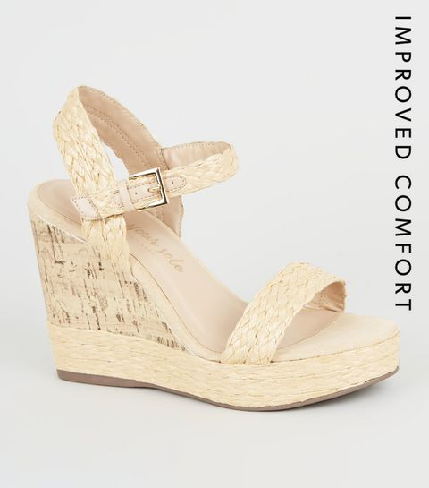 935b6b4dc7 Women's Wedge Shoes | Espadrille Wedges & Flatforms | New Look