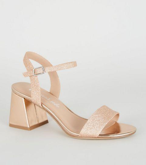 6fe72137a54 Women's Heeled Sandals | Block Heel & Strappy Sandals | New Look